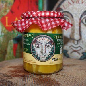 queso en aceite